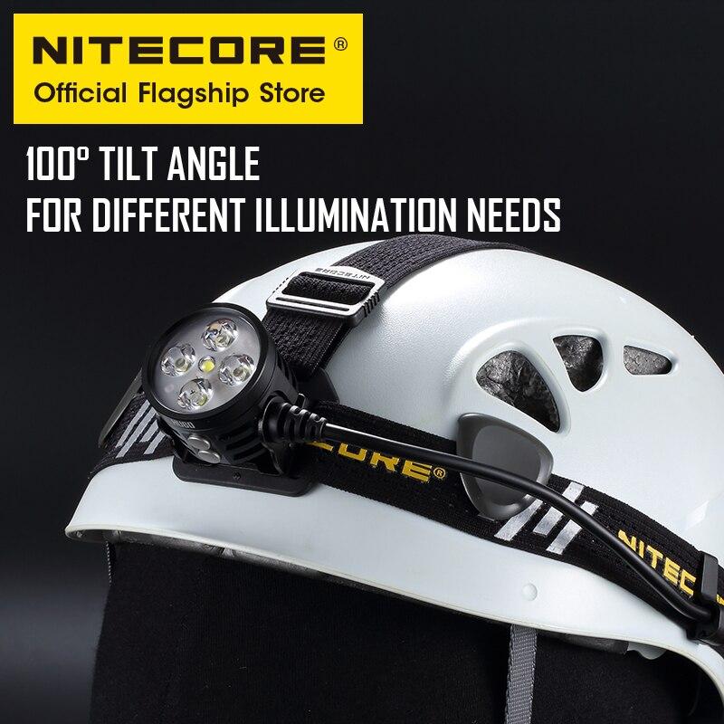 NITECORE HU60 E-focus Zoom Led Head Lamp wireless Remote 1600 lumen Industrial Floodlight Adventure headlights biking Spotlight enlarge