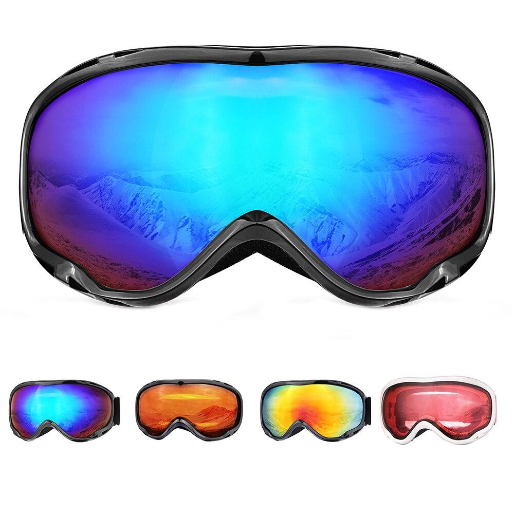 IML EXPRESS gafas de esquí de invierno para hombre y mujer gafas de Snowboard con doble lente Anti-niebla UV 400 protección Unisex