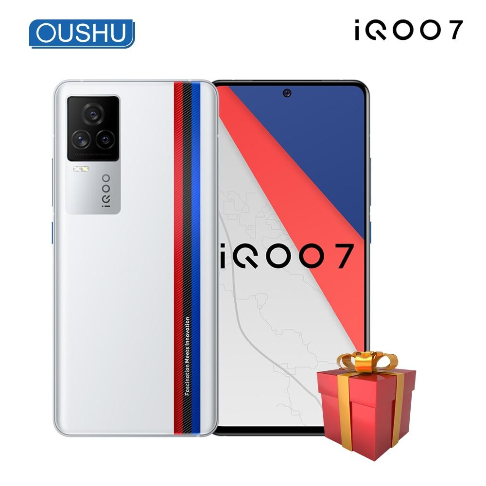 Newest Original iQOO 7 5G Mobilephone Snapdragon 888 120W Dash Charging 6.62