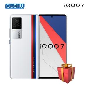 Новинка, оригинальный мобильный телефон iQOO 7 5G, Snapdragon 888, 120 Вт, зарядка для приборной панели, 6,62 дюйма, AMOLED, 120 Гц, частота обновления, NFC, сотовый телефон