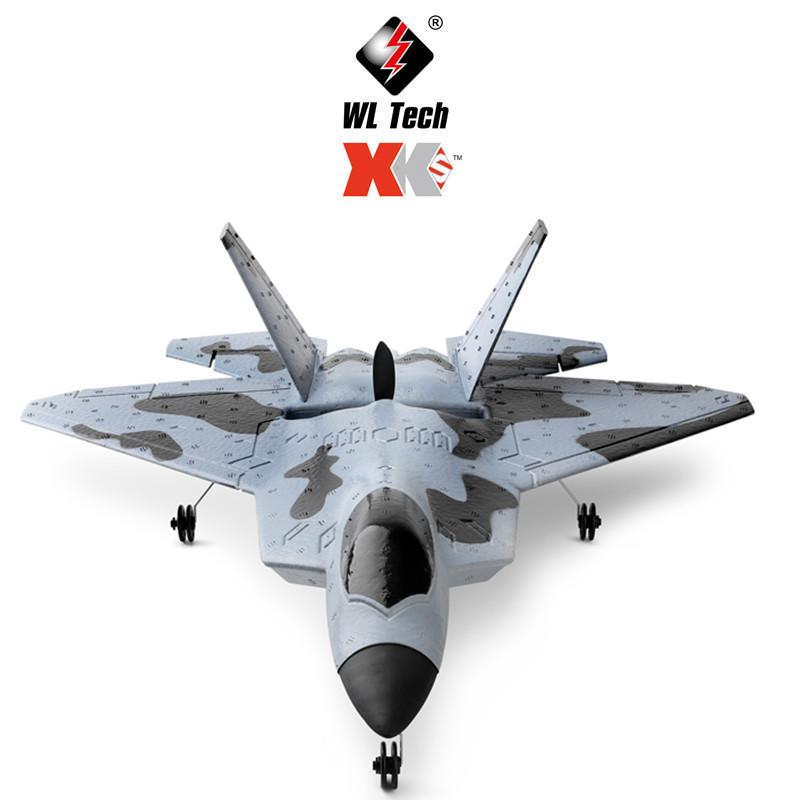 Wltoys XK A180 F22 Aircraft Brushless Motor Fixed Wing RC Airplane Plane Ready to Fly EPP Material Drone for Kid Adult Gifts enlarge