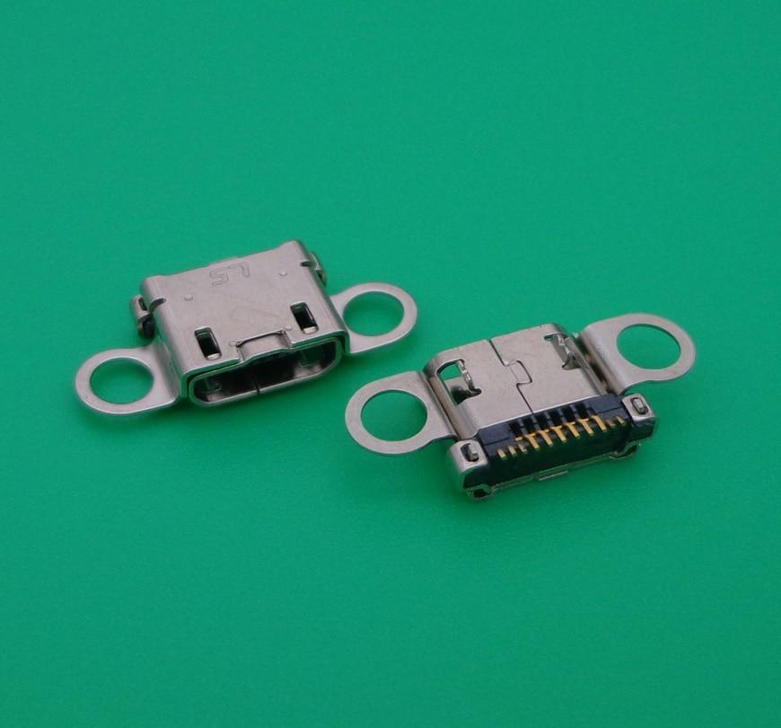 50 unids/lote para Samsung A3 A5 A7 A300 A500 A700 A3000 A5000 A7000 conector de carga usb micro toma de acople a enchufe puerto