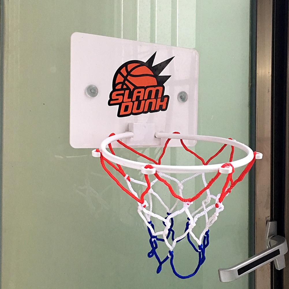 Juego de caja de tablero de baloncesto, aro de fondo, Mini juego de pelota de deportes de interior para niños, para ejercicios al aire libre, adornos deportivos