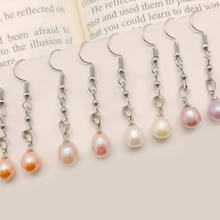 Romantic Natual Stone Pearl Earrings  for Women 2021 Trend Party Jewelry Accessories Fashion Drop Ea