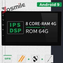 2 din Android 9,0 Auto Radio Head Unit Für Nissan Xtrail Hinweis Qashqai Almera Universal Multimedia Audio GPS Navigation Stereo 4GB