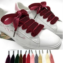 100 cm/120 cm Length  Width Velvet Surface Shoelaces Women Men Black White Blue Colorful Leather Spo