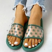Fashion Women Home Slippers Summer Simple Shoes Non-slip Bathroom Slides Casual Flip Flops Female In