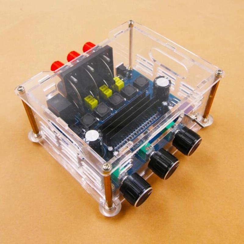 Amplificador de Audio estéreo de 2x50W + 100W (bajo), 2,1 canales, TPA3116D2,...