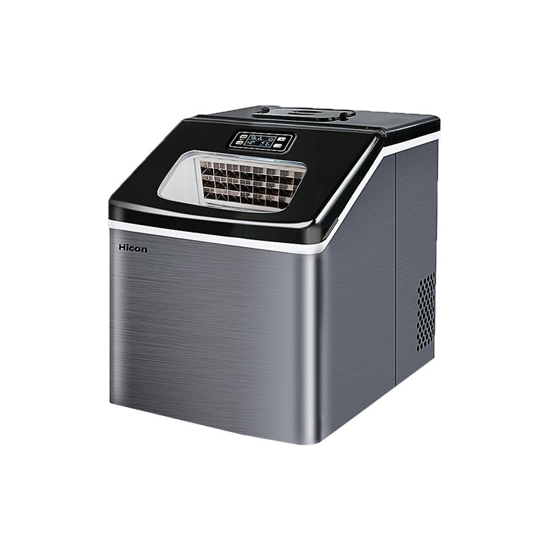 ice machine commercial tea shop small mini square ice 25kg home automatic ice making machine