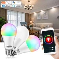 Smart Light Bulb LED Color Changing WiFi Voice Control B22 Bulb 10W RGB Dimmable Night Lights Remote Compatible Alexa Google