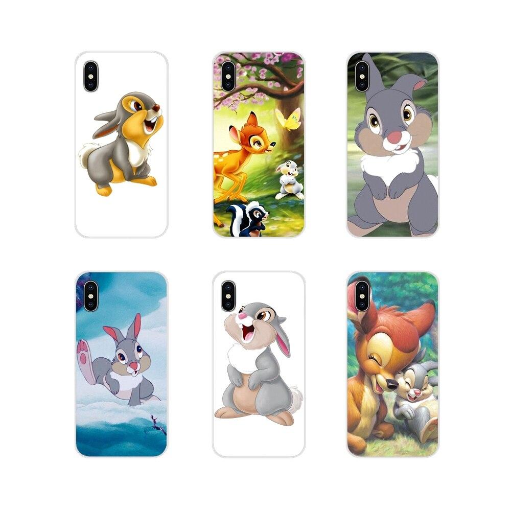 Accesorios Bambi Thumper, carcasas de teléfono para Huawei G7 G8 P8 P9 P10 P20 P30 Lite Mini Pro P Smart Plus 2017 2018 2019