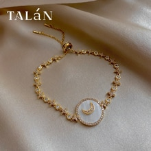 French Court Temperamental Bracelet Ins Special-Interest Design Crescent Bracelets High Grade Are Be