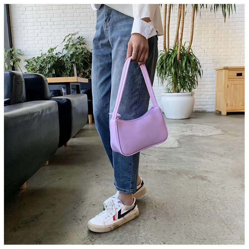 women spring retro handbag pu leather shoulder underarm vintage top handle bags lingge chain bag female small subaxillary bags 2021 New Fashionable Handle Bag Women Retro Handbag Designer Tote PU Leather Shoulder Purse Female Small Subaxillary Bags Clutch