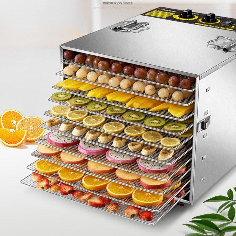 فاكهة صغيرة الحجم العنب ديهيدراتور آلة المانجو الغذاء مجفف هواء نزح المياه