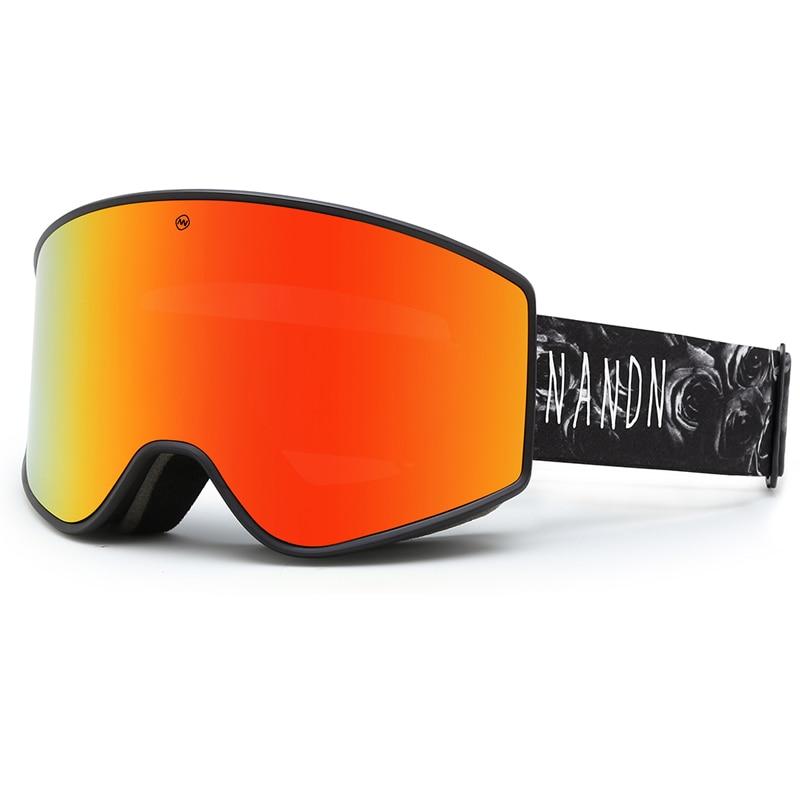 Aldult Winter Ski Goggles Double Layer Anti-Fog Snowboard Goggles Men Women Safety Ski Goggle 2021 Outdoor Sports Skiing Eyewear