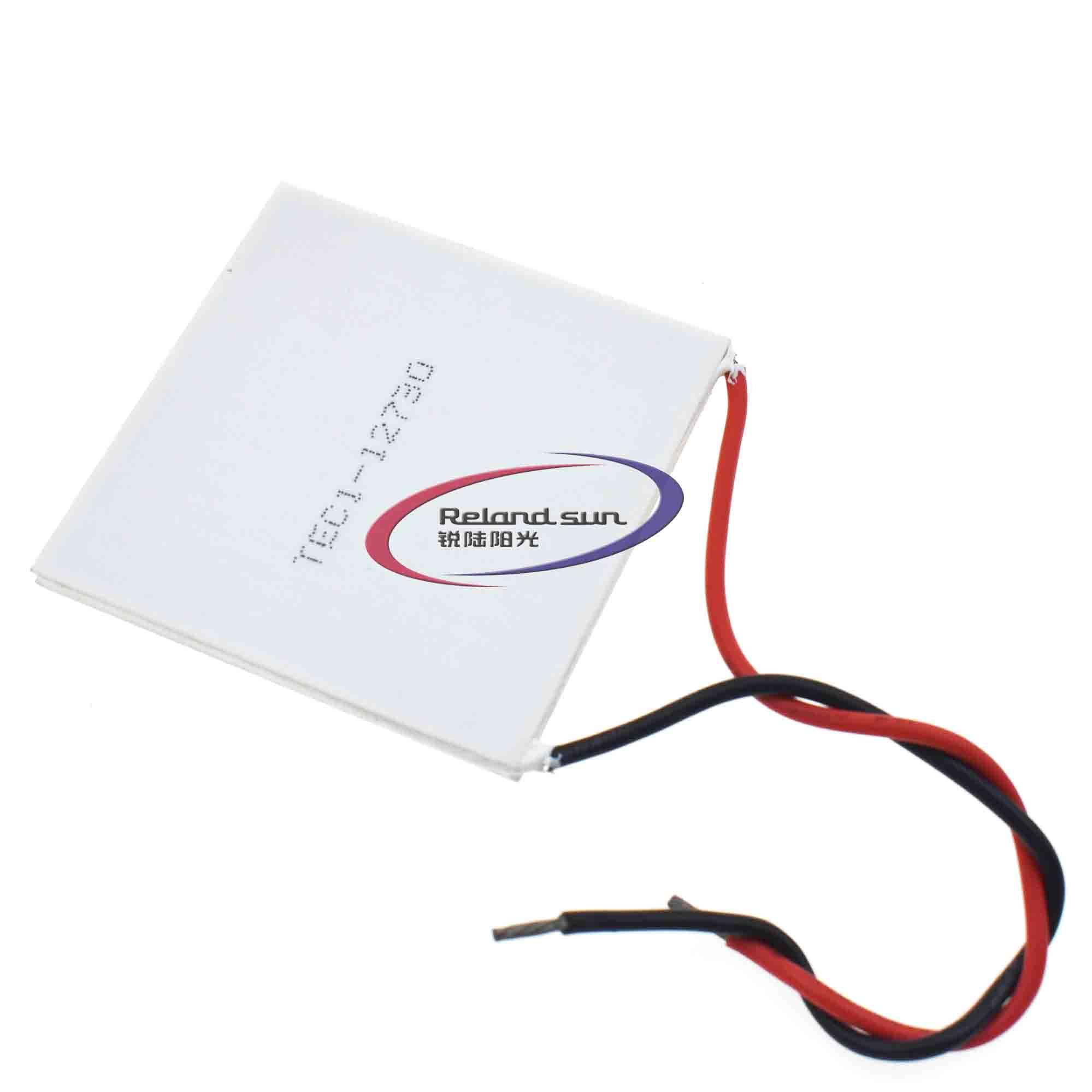 TEC1-12730 62*62 مللي متر جديد عالية الطاقة أشباه الموصلات التبريد معدات التبريد من الجسيمات الكبيرة
