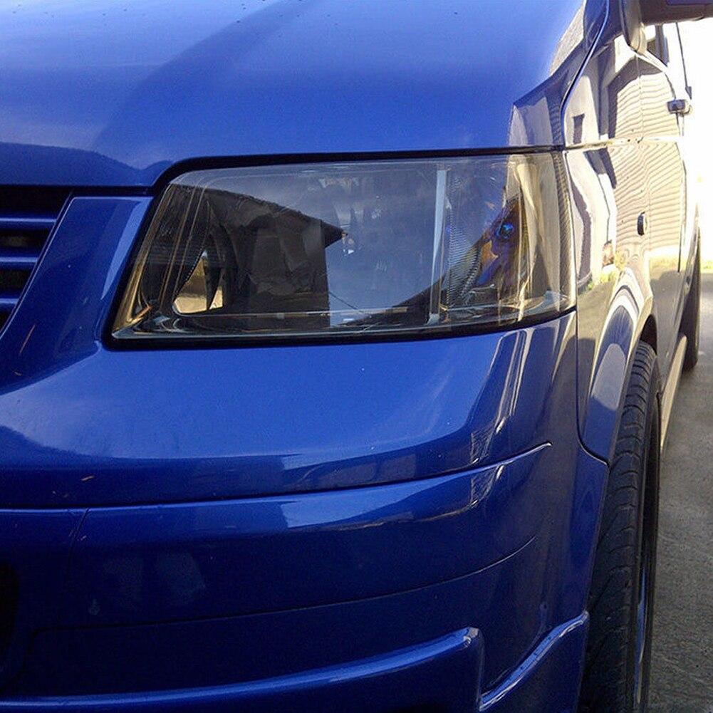 1 Pza 30*150cm coche negro oscuro tintado película de luz antiniebla luces traseras faro Tint Car Van Wrap para faros delanteros pegatina lateral