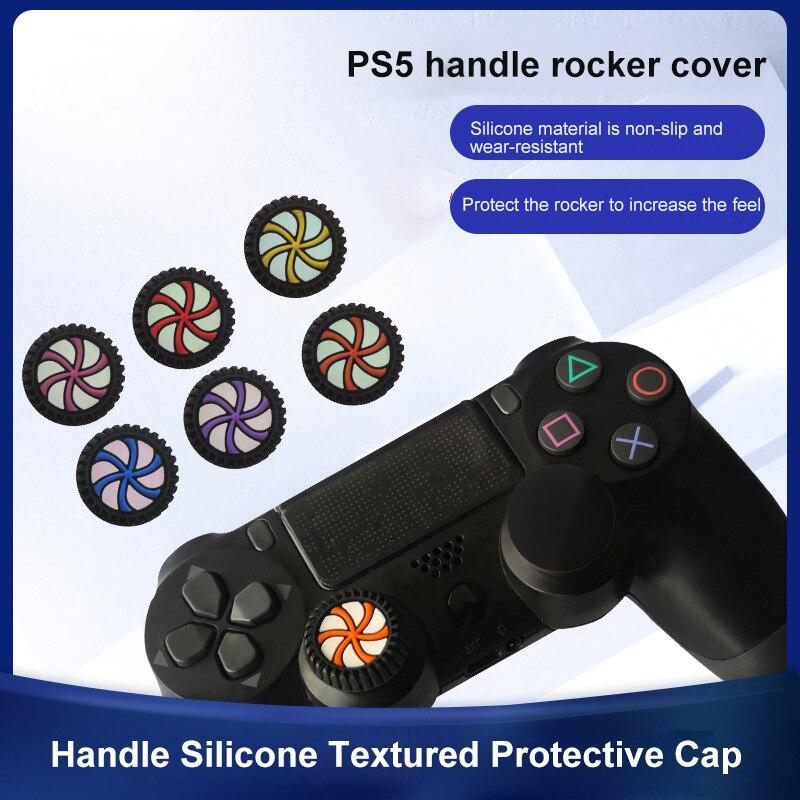 Thumb Stick de silicona suave, 2 uds., tapa de agarre para mando,...