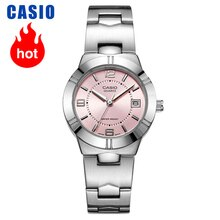 Элегантные модные кварцевые женские часы Casio, LTP-1241D-4A