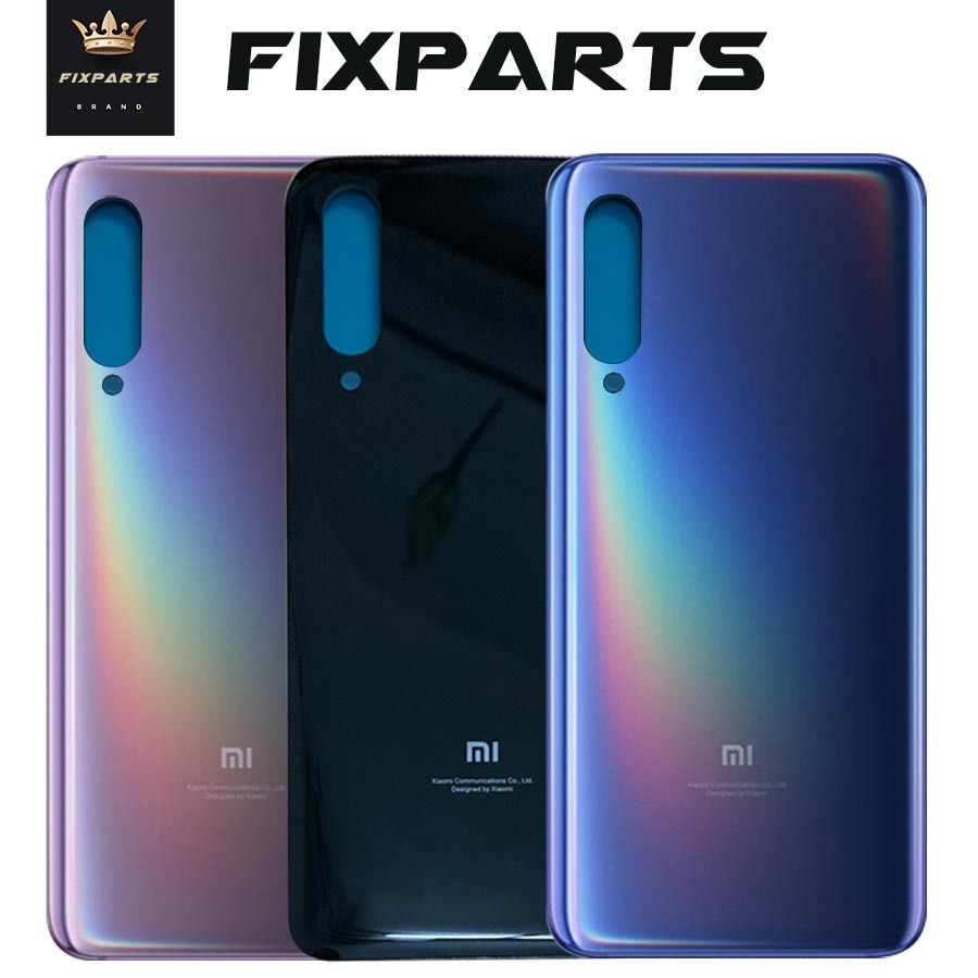 New for Xiaomi mi 9 Back Battery Cover Rear Door Housing Case Glass Panel Mi9 SE Replacement Parts F