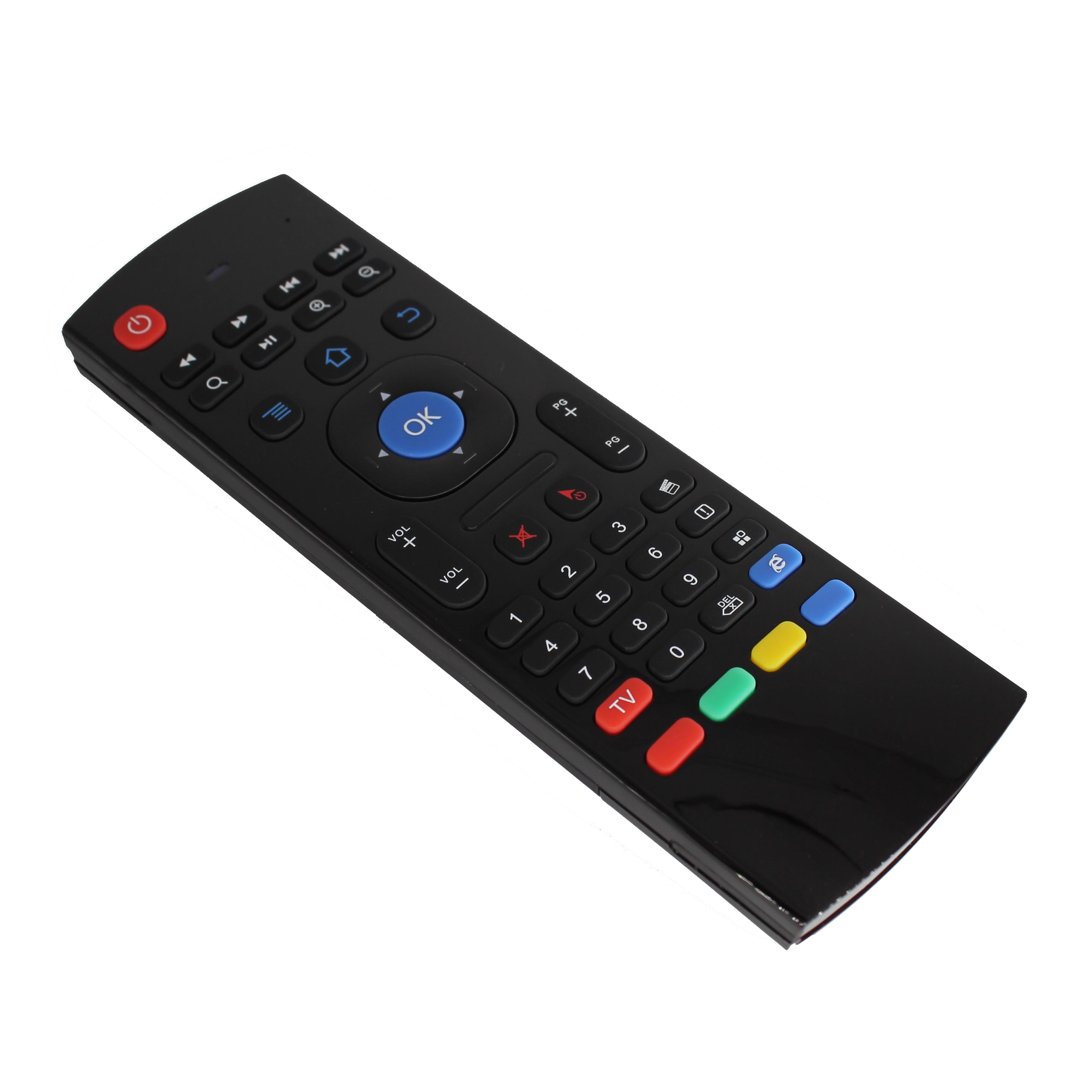 Quente mx3 voz backlit ar mouse google inteligente controle remoto 2.4g rf teclado sem fio para h96 max 3318 caixa de tv android teclado