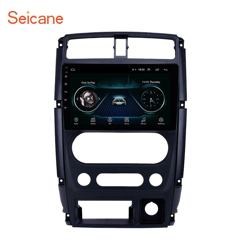 Reproductor Multimedia para coche Seicane 2din 9 pulgadas Android 8,1 Radio GPS para coche 2007 2008 2009-2012 Suzuki soporte Carplay DVR SWC