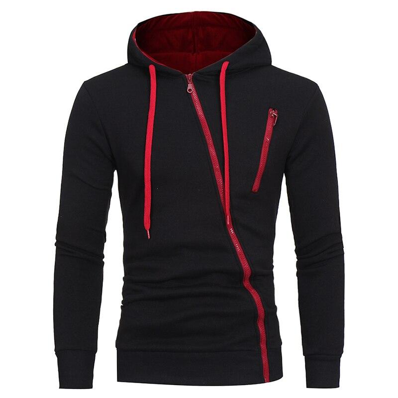 Мужская куртка с капюшоном, сезон весна-осень 2021, мужские повседневные толстовки на молнии, свитшоты, однотонные толстовки, свитшоты, топы