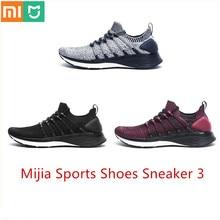 XiaoMi Mijia Xiaomi chaussures 3 3th hommes Sport baskets confortable respirant chaussures légères sneaker 3 Sports de plein air Goodyear caoutchouc