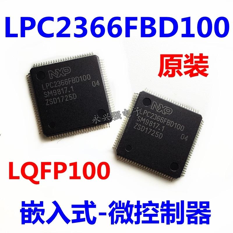 5 piezas LPC2366FBD100 LPC2366 LQFP100