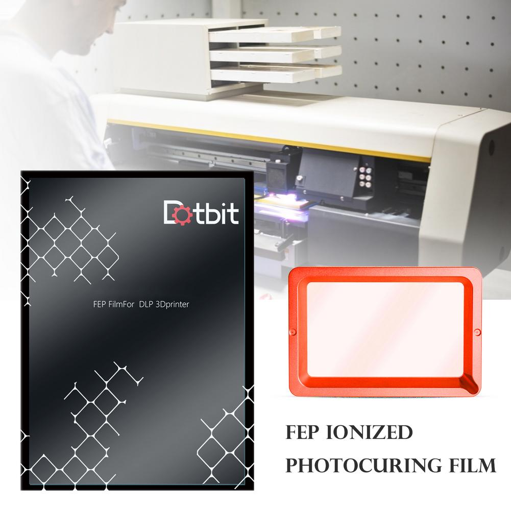 5pcs/lot FEP Release Film 200mmX140mm For DLP LCD 3D Printer For ANYCUBIC PHOTON MICROMAKE 3D Printers Transmittance Accessories