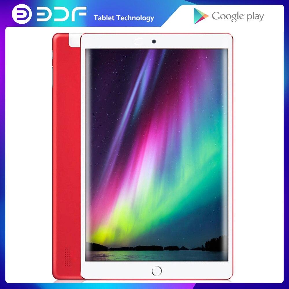 BDF-Tabletas Android 2020, 7,0, tableta de 10 pulgadas, 32GB ROM, Bluetooth, Wifi, Quad Core, Tarjeta SIM 3G, llamada telefónica Dual, Pc, GPS de 10,1 pulgadas