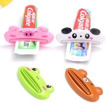 4 pièces ménage dentifrice presse-agrumes bande dessinée multi-usages dentifrice compressibles dentifrice distributeur pour accessoires de salle de bain à la maison