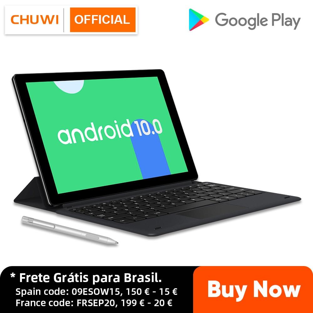 Promo CHUWI HiPad X 10.1 Inch Android 10 Tablet PC MTK Octa Core LPDDR4X 4GB RAM 128G ROM Tablet 4G LTE GPS