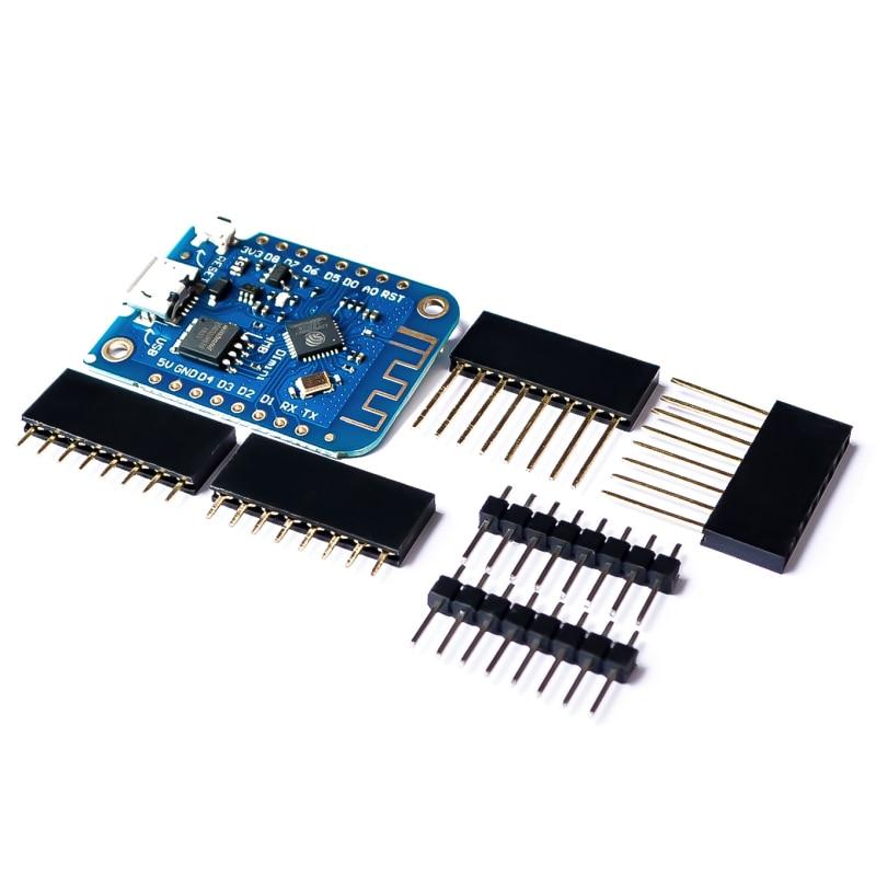 D1 Mini ESP8266 ESP-12 ESP-12F CH340G CH340 V2 USB WeMos WIFI Development Board D1 Mini NodeMCU Lua IOT Board 3.3V With esp 8266ex development board esp launcher