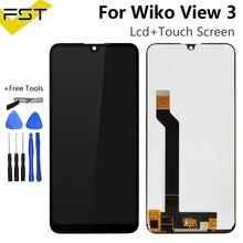 Für Wiko Ansicht 3 LCD Display mit Touch Screen Digitizer Handy Zubehör Für Wiko View3 Lcd Sensor + Werkzeuge