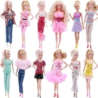 2021 paris fashion dress outfit suit sets for barbie bjd fr sd doll clothes collection accessories toys for girl