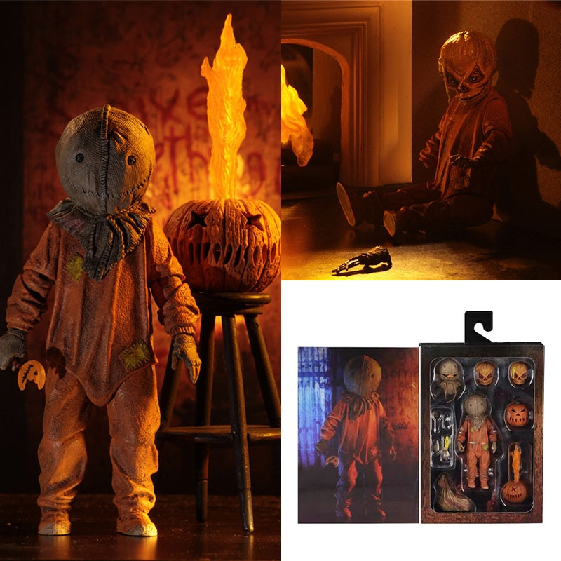 Collectible 18cm Ghost Baby don't Mess with Children Halloween Horror Dolls Living Dead Dolls Movable Hand-made Model Toys
