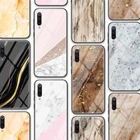 marble funda glass tpu case for redmi note 9 8 8t 7 9c 8a 9s k30 k30s poco c3 m2 case for xiaomi mi note 10 10t 9 ultra lite pro