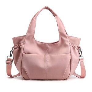 1PCS Fashionable Women's Messenger Bag, Versatile  Bag, Waterproof Nylon Cloth Bag, Large Capacity Portable Shoulder Bag