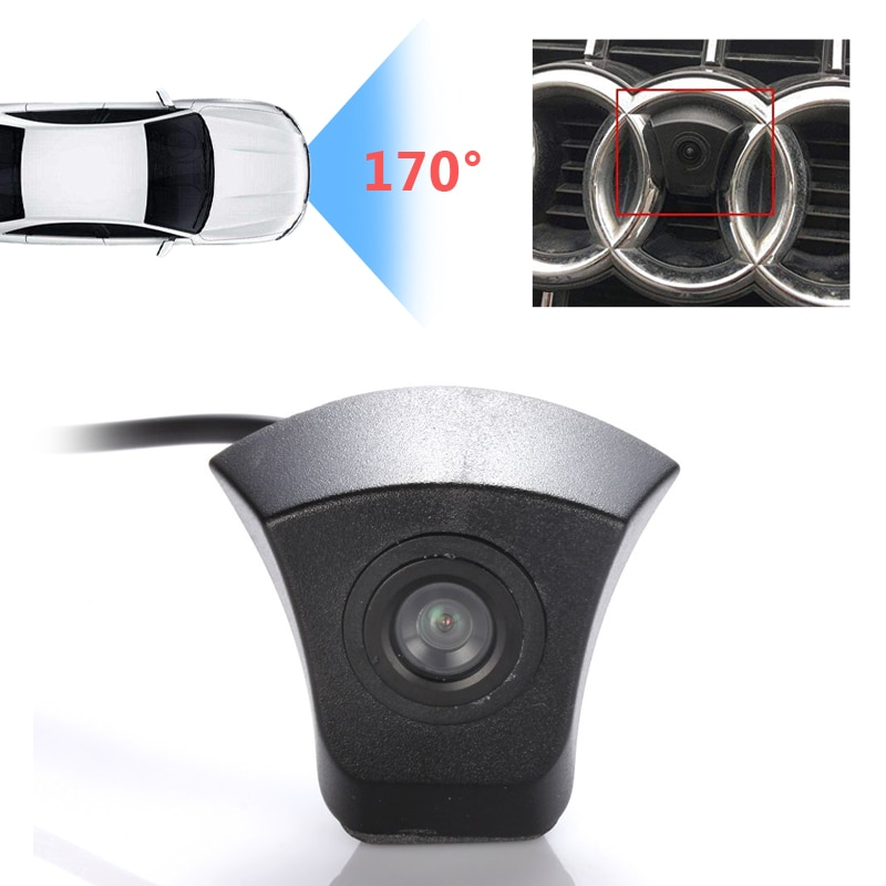 HD CCD Car Front View Camera Logo Parking System For Audi A1 A2 A3 A4 A5 A6 A7 A8 A4L A6L Q3 Q5 Q7 TT TTS