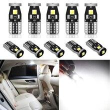 10X W5W T10 LED Bulb For Kia Optima Sportage R Ceed Rio 3 4 K2 K5 KX5 Sorento Accessories Car Interior Light Parking Lamp 12V