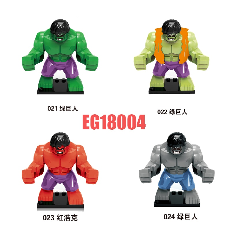 2021 Конструктор Buliding серии фильмов, фигурки героев большого размера, кирпичи, обучающие игрушки для детей EG18004