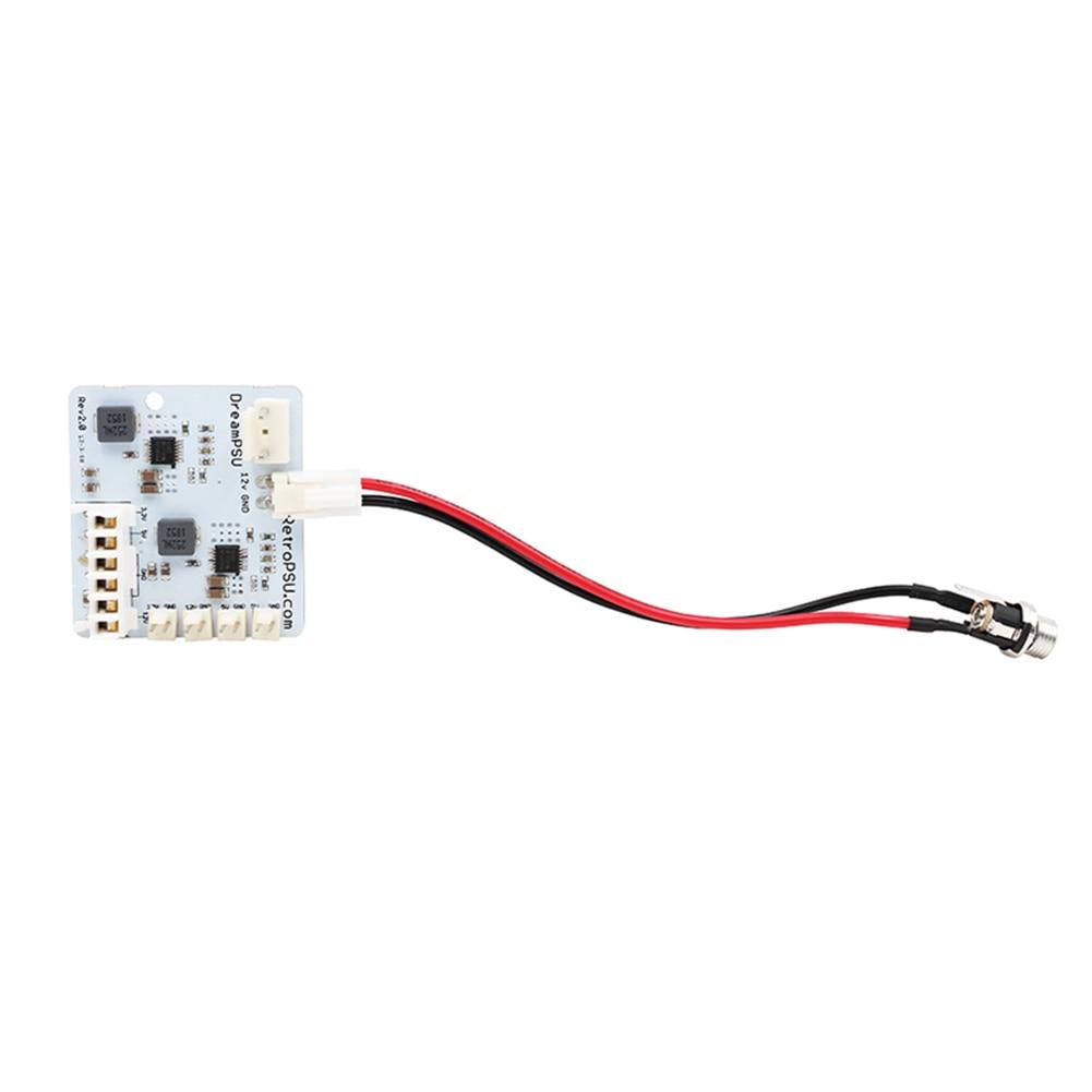 ملحقات الماكينة الإلكترونية DreamPSU Rev2.0 مصدر طاقة 12 فولت لقطع غيار وحدة التحكم SEGA DreamCast