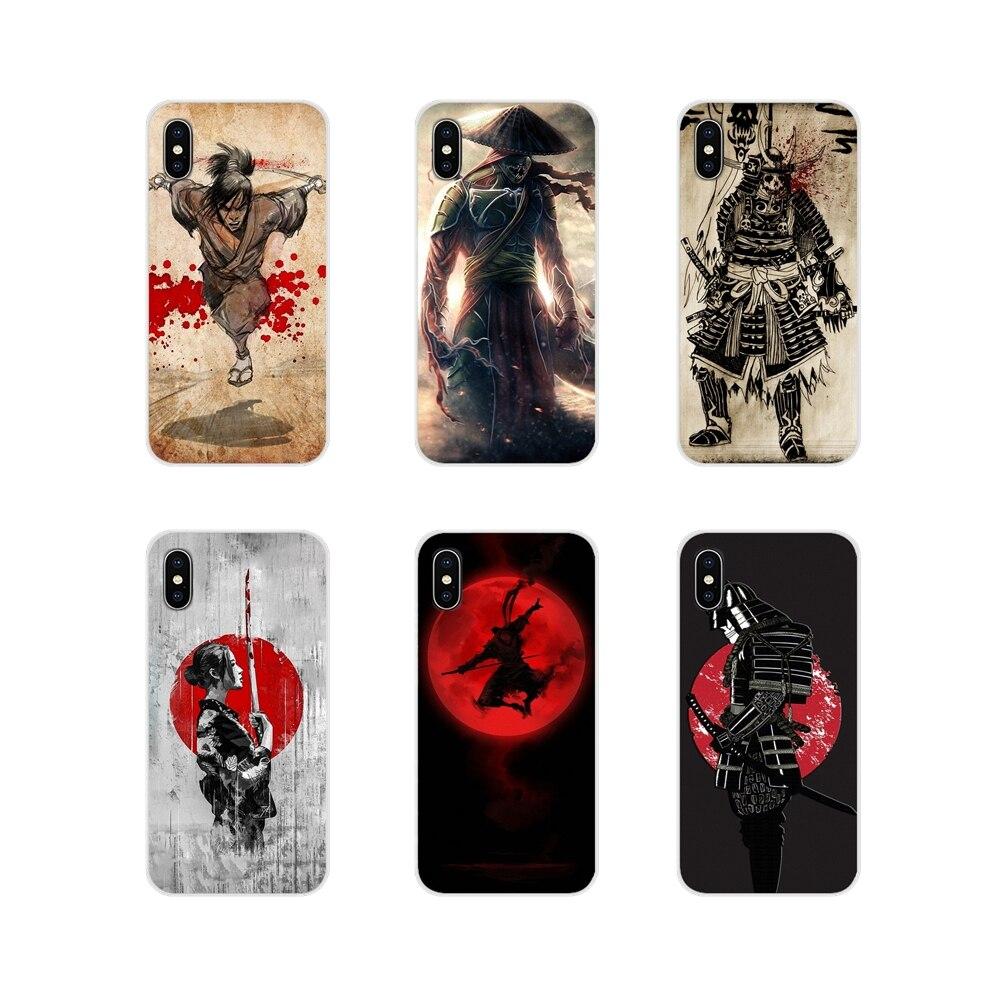 Para Samsung Galaxy A3 A5 A7 A9 A8 Star A6 Plus 2018 2015 2016 2017 accesorios fundas de teléfono cubierta Japón el samurai Ninja increíble