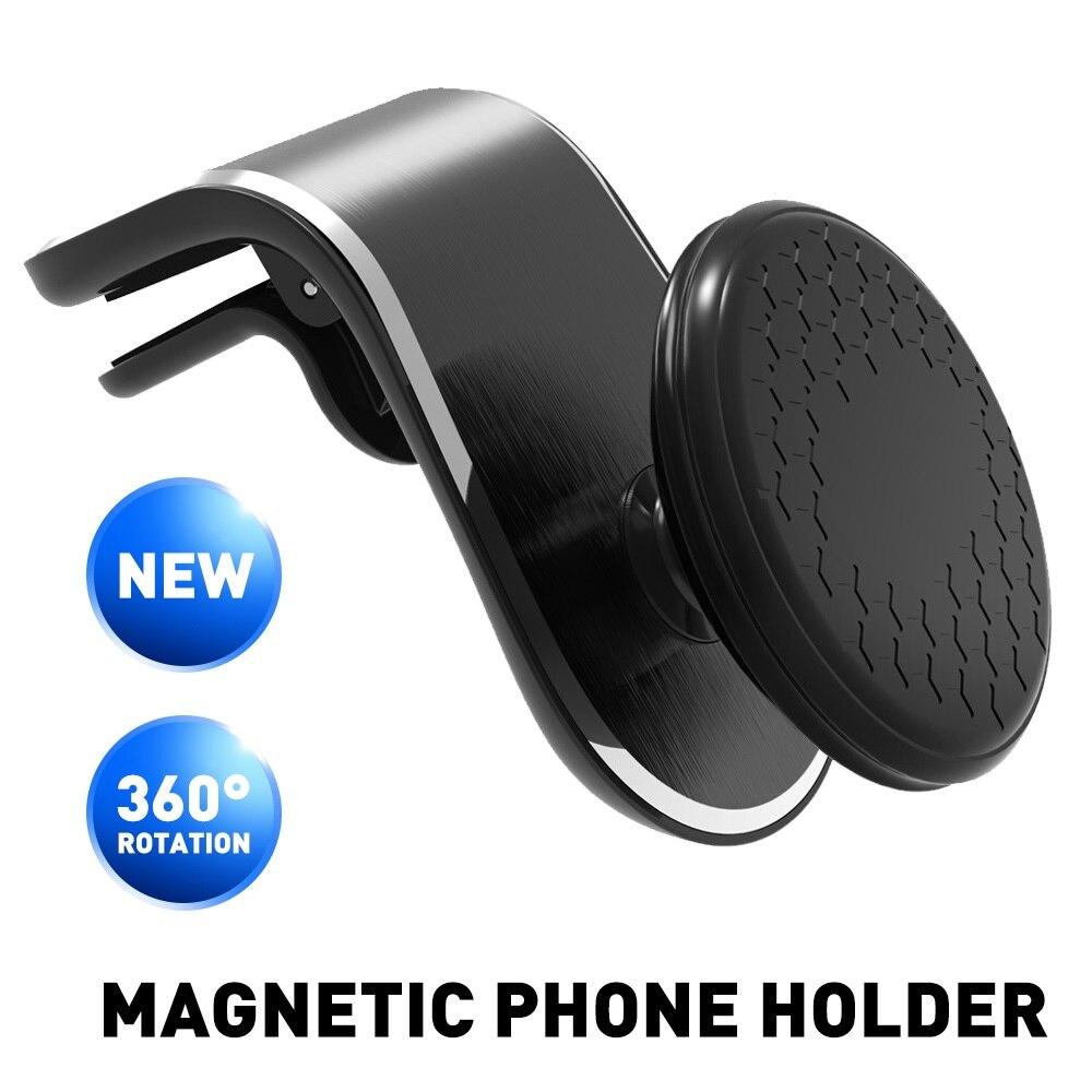 Soporte de teléfono magnético para Kia Sportage Ceed Rio 3 4 K2 K5 KX5 Sorento Soul Cerato Picanto Optima K3 Forte Spectra R