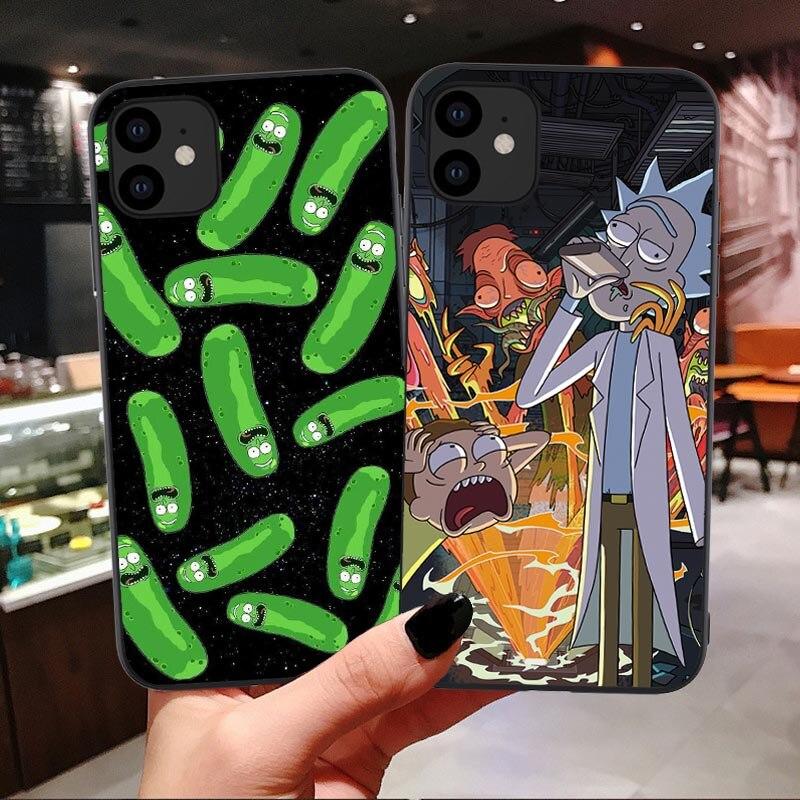 Рик и Морти Забавный мультяшный комикс Meme забавная Цитата Мягкий Силиконовый ТПУ чехол для телефона для iPhone 11 Pro Max 6 6S 7 8 Plus X XS MAX XR