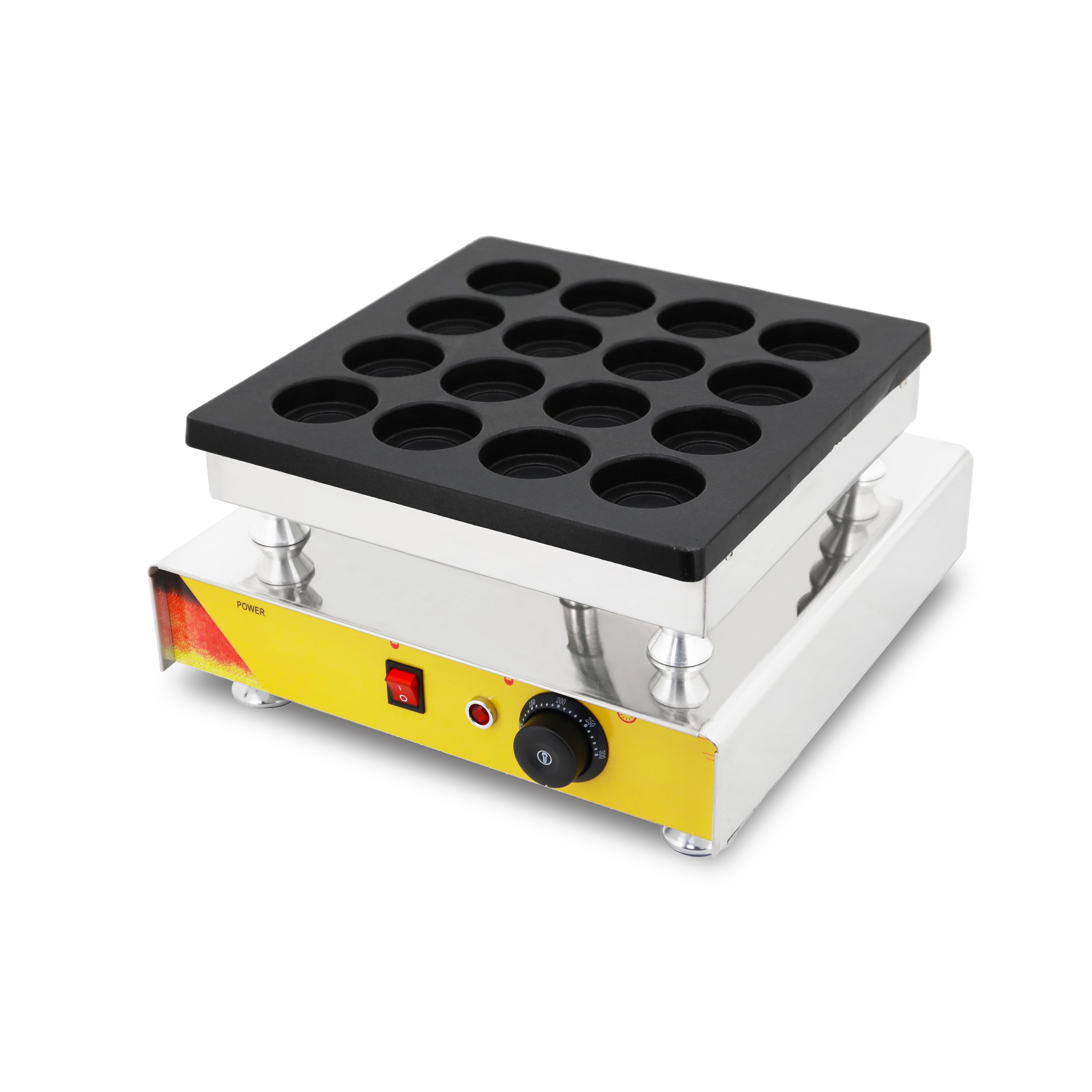 16 Hole Commercial Taiwan Red Bean Cake Wheel Machine  Automatic Wheel Cake Making Machine Pie Maker Snack Equipment With CE недорого