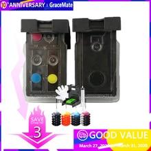 PG 545 CL 546 Cartouche Dencre rechargeable Compatible pour Canon MG2400 MG2450 MG2500 MG2550 MG2580 MG2950 IP2850 MX495 MG3050 TS3151