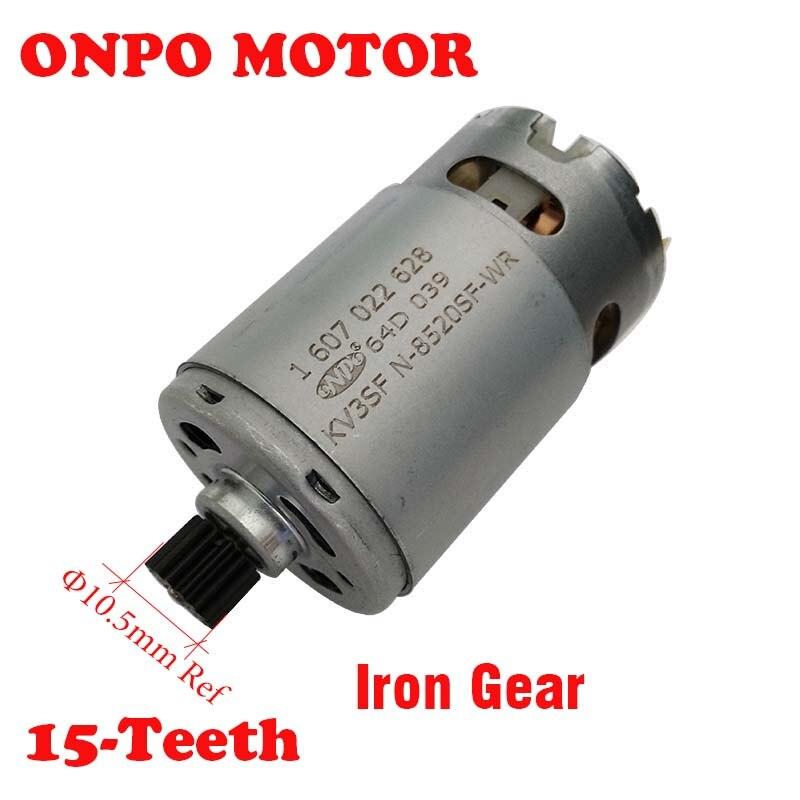 ONPO TSR1080-2-LI 15-3601JE2080 الأسنان العاصمة المحرك 1607022628 لبوش الحفر الكهربائية مفك صيانة أجزاء