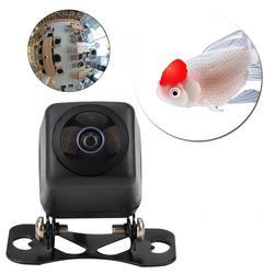 170 grande angular fisheye lente hd visão noturna câmera de visão traseira do carro reverso backup à prova dwaterproof água auto accessorie câmera